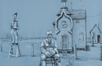 mee-simon_there-was-a-crooked-man_2010_challk-and-charcoal-on-primd-paper_-130-x-140cm